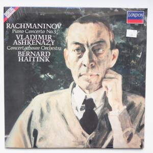 Rachmaninov PIANO CONCERTO NO.3 / Vladimir Ashkenazy - Concertgebouw Orchestra dir. Bernard Haitink  --  LP 33 giri  - Made in USA/UK - LONDON 417 239-1 - SIGILLATO