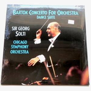 Bartok CONCERTO FOR ORCHESTRA - DANCE SUITE  / Chicago Symphony Orchestra dir. Sir Georg Solti  --  LP 33 giri  - Made in USA/UK - LONDON LDR 71036 - SIGILLATO