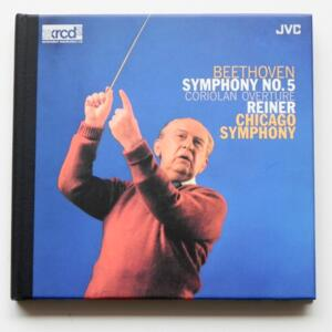 Beethoven SYMPHONY NO. 5 CORIOLAN OVERTURE / Chicago Symphony - Reiner, conductor  --   XRCD2 - Made in Japan - JMCXR-0005