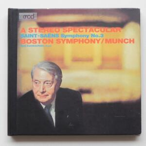 Saint-Saens SYMPHONY NO.3  /Berj Zamkochian, organ / Boston Symphony - Munch, conductor  --   XRCD2 - Made in Japan - JMCXR-0002
