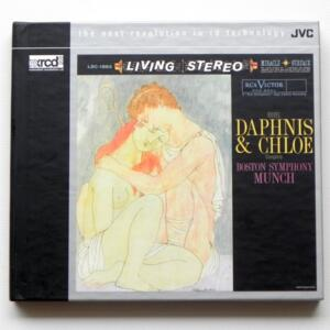 Ravel DAPHNIS & CHLOE complete / Boston Symphony - Munch, conductor  --   XRCD2 - Made in Japan - JVCXR-0222-2