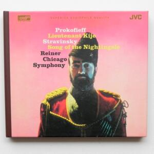 Prokofieff LIEUTENANT KIJE - Stravinsky SONG OF THE NIGHTINGALE / Chicago Symphony Orchestra  - Reiner, conductor  --   XRCD24 - Made in Japan - JM-XR-24026