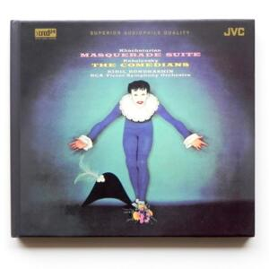 Khachaturian MASQUERATED SUITE - Kabalevsky THE COMEDIANS /  RCA Victor Symphony -Kondrashin, conductor -- XRCD24 - Made in Japan - JM-XR24014
