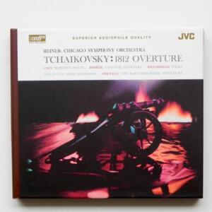 Tchaikovsky 1812 OVERTURE / Chicago Symphony Orchestra - Reiner, conductor  --  XRCD24 - Made in Japan - JM-XR24016
