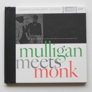 Mulligan meets Monk / Thelonious Monk - Gerry Mulligan  --  XRCD - Made in USA - JVCXR-0032-2 - Fantasy
