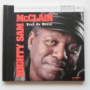 Keep on movin' / Mighty Sam McClain  --  XRCD - Made in USA - JVCXR-0026-2 - Audioquest