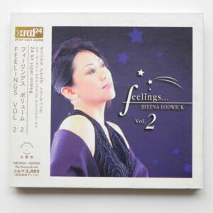 Feelings ...Vol 2 / Jheena Lodwick  --  XRCD24 - Made in Japan - XRCD24-1009SA