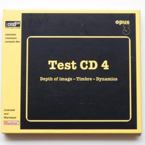 Test CD 4 / AA.VV.  --  XRCD24 - Made in Japan - MXCD 99300