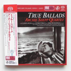 True Ballads / Archie Shepp Quartet  --  SINGLE LAYER SACD - Made in Japan - OBI - VHGD-7