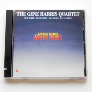 Listen Here / The Gene Harris Quartet  --  HYBRID SACD  - Made in USA - SACD -1006-6