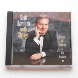 Scott Hamilton with Strings / Scott Hamilton arranged and conducted by Alan Broadbent  --  HYBRID SACD - Made in USA - SACD -1028-6