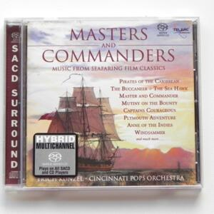Masters and Commanders (music from seafaring film classics) / Cincinnati Pops Orchestra - E. Kunzel, director  -- HYBRID SACD - Made in USA - SACD-60682