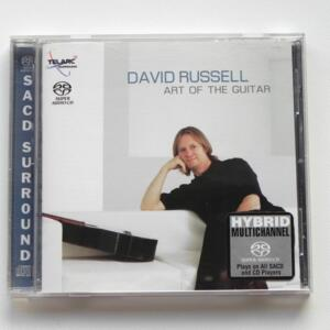 Art of the Guitar / David Russell --  HYBRID SACD - Made in USA - SACD-60672