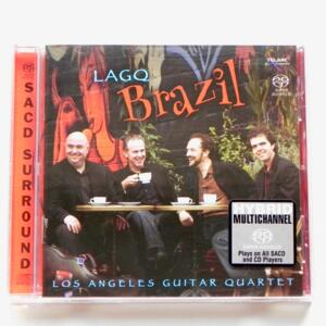 LAGQ / Los Angeles Guitar Quartet --  HYBRID SACD - Made in USA - TELARC SACD 60686