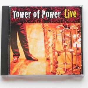 Tower of Power Live / Soul Vaccination  -- SACD SINGOLO STRATO  - Made in USA - MUSIC LEGACY 550