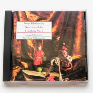 Peter Tchaikovsky NUTCRACKER SUITE - SYMPHONY NO. 4 / New York Philharmonic - L. Bernstein, conductor  --   SACD SINGOLO STRATO  - Made in USA  - SONY CLASSICAL  SS 87982