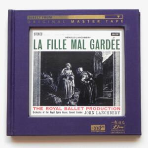 Hérold-Lanchbery LA FILLE MAL GARDEE / Orchestra of the Royal Opera House , Covent Garden - J. Lanchbery, director  --  XRCD24 - Made in Japan - LIM XR24 013  FIM