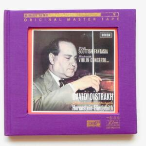Bruch SCOTTISH FANTASIA - Hindemith VIOLENT CONCERTO / David Oistrakh / London Symphony Orchestra - Horenstein-Hindemith, conductors  --  XRCD24 - Made in Japan - LIM XR24 015