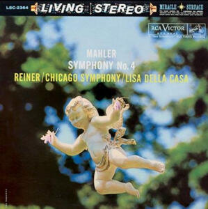 Mahler - Symphony No. 4 - Chicago Symphony Orchestra, Fritz Reiner conductor, Lisa Della Casa soprano  --  LP 33 giri 200 gr. Made in USA by Analogue Productions - SIGILLATO