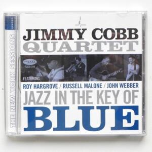 Jazz in the Key of Blue / Jimmy Cobb Quartet   --  SACD  Ibrido - Made in USA by CHESKY - SACD344