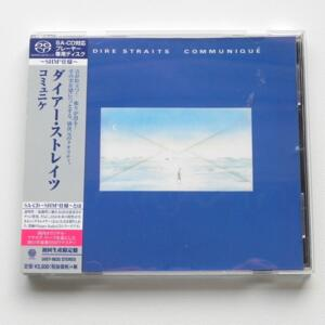 Communiqué - Dire Straits  --  SHM SACD - Made in JAPAN by UNIVERSAL  - UIGY 9635 - OBI