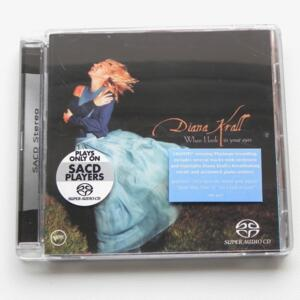 When I look in your eyes / Diana Krall  --  SACD SINGOLO STRATO  - Made in EU by VERVE 065 374-2 - Suona solo su lettori SACD