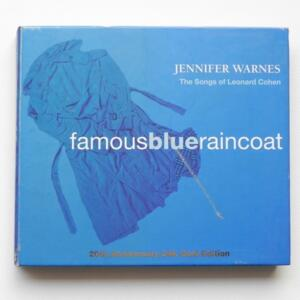 Famous Blue Raincoat - The Songs of L. Cohen / Jennifer Warnes  -- CD  - Made in USA by CISCO - GCD8011-2
