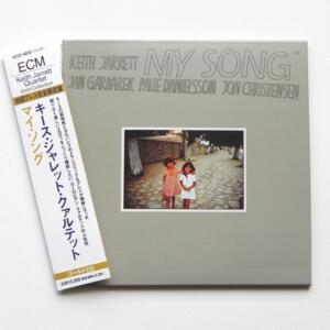 My Song / Keith Jarrett Quartet  -- CD  - Made in JAPAN by ECM - UCCE-9020  OBI