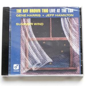 Summer Wind - Live at the Loa / The Ray Brown Trio  --  CD - Made in USA by CONCORD JAZZ - CCD-4426 - SIGILLATO