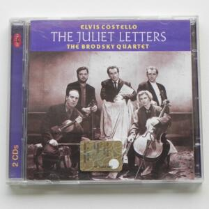 The Juliet Letters / Elvis Costello and the Brodsky Quartet  -- Doppio CD - Made in EU by RHINO - 8122-73363-2 - CD APERTO
