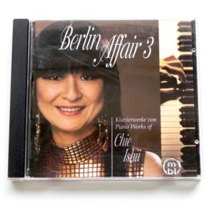 Berlin Affair 3 / Piano Works by Chie Ishii  --   CD - Made in EU by MBL/ZOUNDS - 27000 60023 - CD APERTO