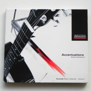 Accentuations Guitar Impressions / AA.VV  --   CD - Made in EU by DYNAUDIO - 27000 68004 - CD APERTO