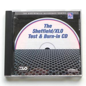 The Sheffield / XLO Test & Burn-in CD -- CD - Made in USA by SHEFFIELD - 10041-2-T - FUORI CATALOGO - CD APERTO