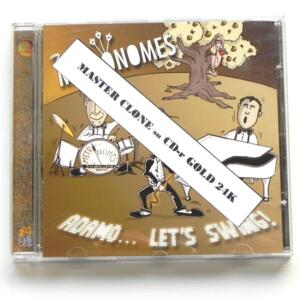 Adamo ... Let's Swing / Metronomes  --  CD MASTER CLONE - Made in ITALY by VELUT LUNA - CD APERTO