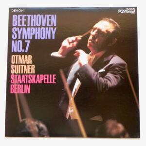 Beethoven: Symphony No.6 Pathétique / Staatskapelle Berlin - conductor Otmar Suitner  -- LP 33 giri  - Made in Japan by DENON - OF-7029-ND - LP APERTO