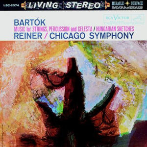 Bartok Music for Strings, Percussion & Celesta/Hungarian Sketches - Reiner /Chicago Symphony - LP 33 giri 200 gr. Made in USA by Analogue Productions - SIGILLATO