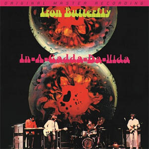 Iron Butterfly - In-A-Gadda-Da-Vida  --  LP 33 giri 180 gr. made in USA - MFSL 1-368  -  Edizione Limitata e numerata - SIGILLATO - Disponibile per spedizione immediata