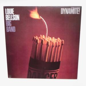 Dynamite / Louie Bellson Big Band  --  Lp 33 giri - Made in Japan - CONCORD JAZZ - ICJ-80249 - LP APERTO