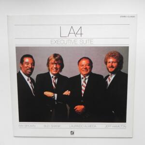 Executive Suite / LA4  Laurindo Almeida - Ray Brown - Shelly Manne - Bud Shank  --  LP 33 giri -  Made in Japan - CONCORD JAZZ - ICJ-80261 - LP APERTO