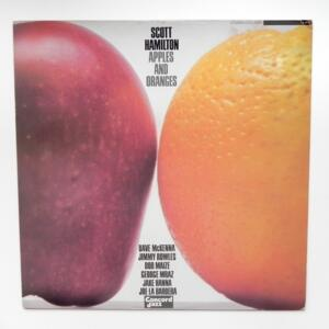 Apples and Oranges / Scott Hamilton --  LP 33 giri - Made in Japan - CONCORD JAZZ - LCJ-2062 - LP APERTO