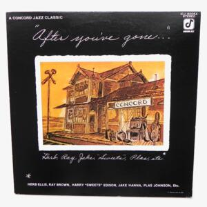 After you've gone / Herb Ellis - Ray Brown and Others --  LP 33 giri - Made in Japan - CONCORD JAZZ - ICJ-80054 - LP APERTO
