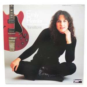 Transitions / Emily Remler  -- LP 33 giri - Made in Japan - CONCORD JAZZ - LCJ-7015  - LP APERTO