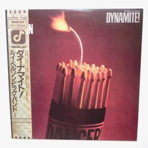 Dynamite / Louie Bellson Big Band  --  Lp 33 giri - Made in Japan OBI - CONCORD JAZZ - ICJ-80249 - LP APERTO