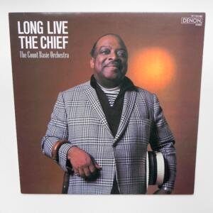 Long Live the Chief / The Count Basie Orchestra  --  LP 33 giri - Made in Japan by DENON - YF-7121-ND - LP APERTO