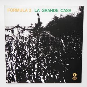 La Grande Casa / Formula 3  --  LP 33 giri  - Made in Japan - SEVEN SEAS - K22P-153 - LP APERTO