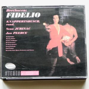 Beethoven FIDELIO / Bavarian State Opera Orchestra, conductor HANS KNAPPERTSBUSCH  -- 3 CD - 20 BIT K2 Super Coding - Made in Japan by WESTMINSTER - MVCW-14003-5 - CD APERTO
