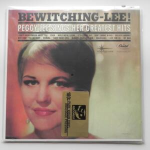 Bewitching-Lee / Peggy Lee  --  LP 33 rpm 180 gr. - Made in USA - S&P RECORDS  - S&P-502  - NUMBERED LIMITED EDITION - LP APERTO