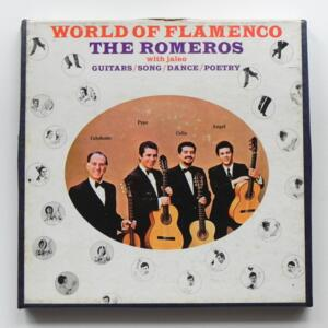 World of Flamenco / The Romeros  / MERCURY - MEK 9120 - Nastro Magnetico Registrato su bobina da 18 cm - 4 tracce - Velocità 19 cm/sec - Originale