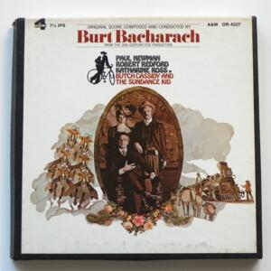 Butch Cassidy and the Sundance Kid / Burt Bacharach / A&M - OR-4227 - Nastro Magnetico Registrato su bobina da 18 cm - 4 tracce - Velocità 19 cm/sec - Originale