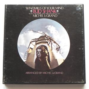 Windmills of Your Mind / Bud Shank / WORLD PACIFIC - ST-20157 - Nastro Magnetico Registrato su bobina da 18 cm - 4 tracce - Velocità 9,5 cm/sec - Originale